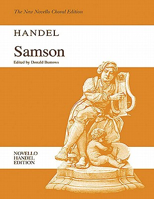 Samson By Frideric Handel, George (COP)/ Burrows, Donald (EDT)